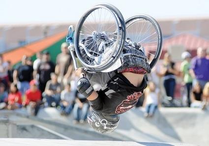 Wheelchair Backflip