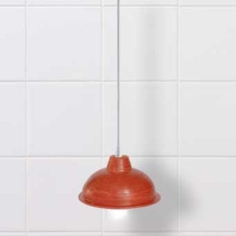 Plunger Lamp