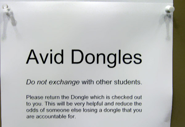 Dongle Isolation