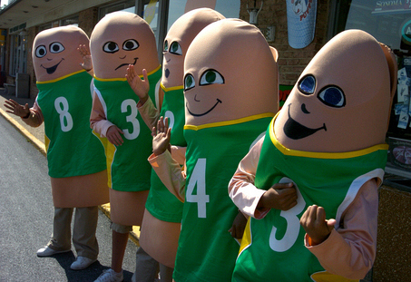 Pennsylvania Quinto Lottery Penis Mascots