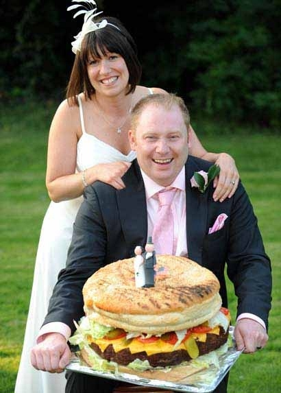 A Whopper of a Wedding Cake