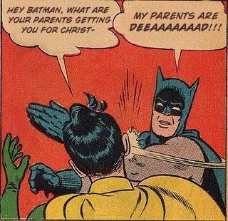 Batman Slaps His Bitch