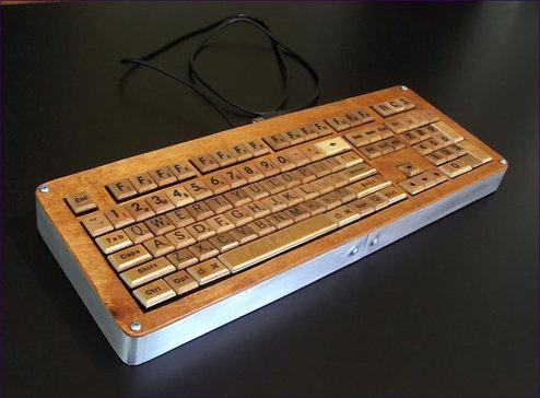 Scrabble USB Keyboard!