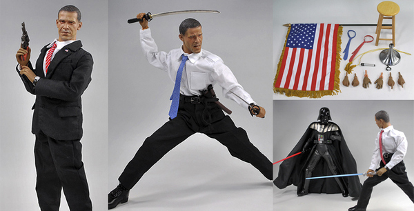 Random Japanese Obama Action Figure