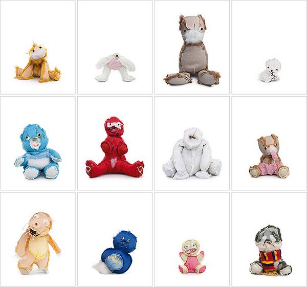 Inside Out Teddy Bears