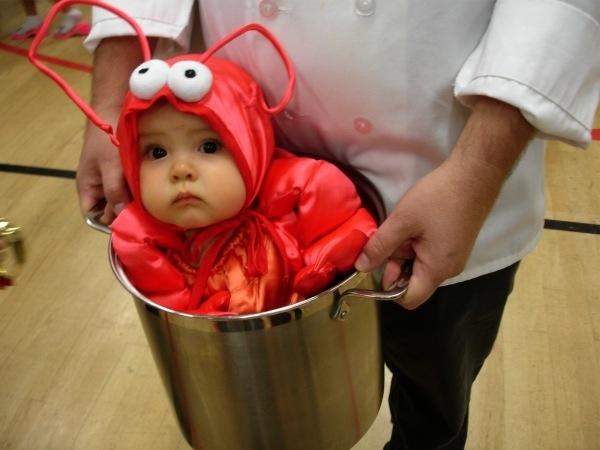 Lobster, for Dinner? O NOES! (22 Awesome Food Costumes!)