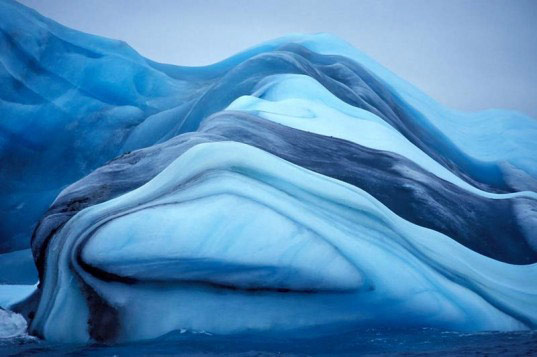 Icebergs Earn Their Stripes