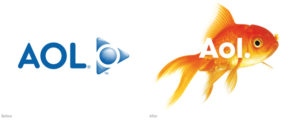 AOL Gets a New Logo