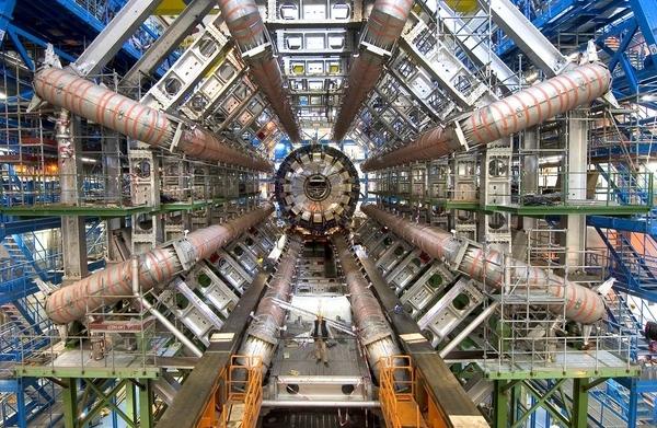 Large Hadron Collider Collides!