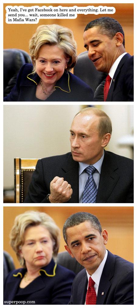 Obama's Mafia Wars