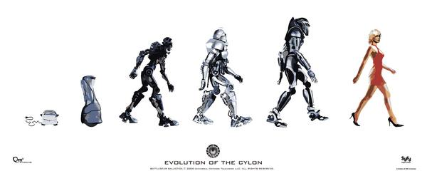 Evolution of a Cylon