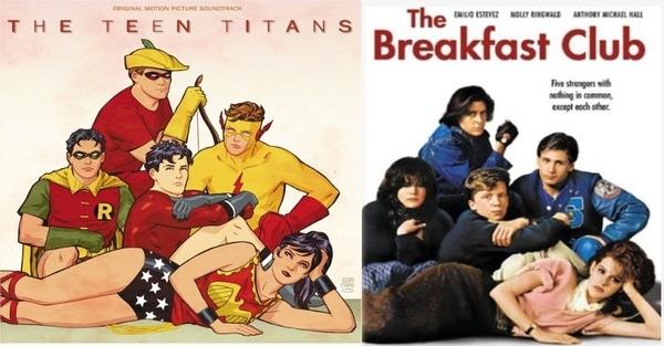The Teen Titans Breakfast Club