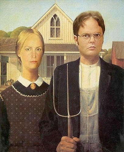 American Gothic: The Office Version