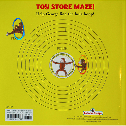 Curious George Maze Solution