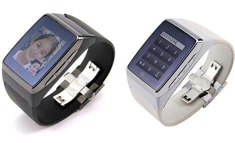 World's First Wrist-watch Video Phone