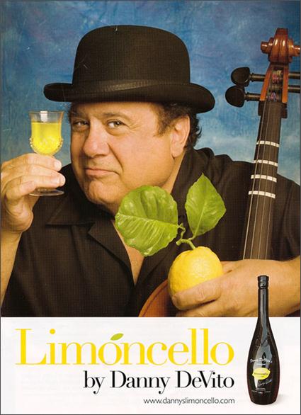 Danny DeVito's Limoncello