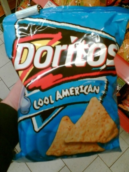 'Cool American' Doritos from Germany