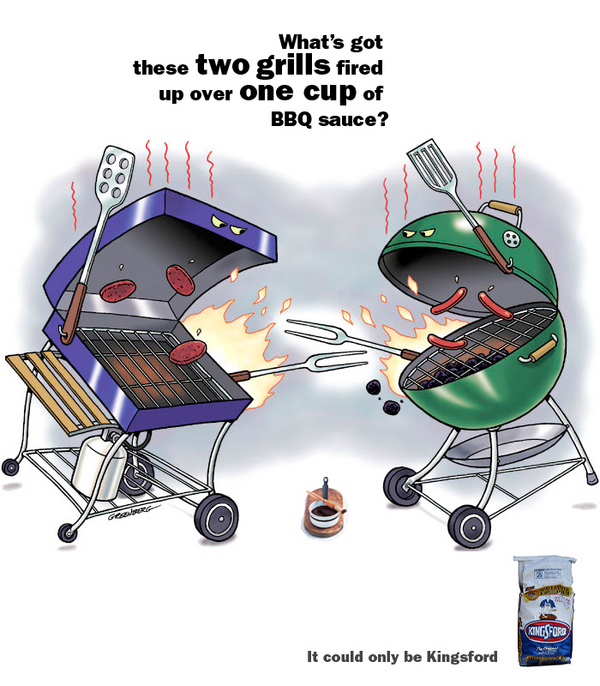 Two Grills, One Cup