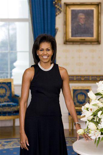 Michelle Obama's Official White House Portrait