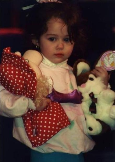 Miley Cyrus Baby Picture!
