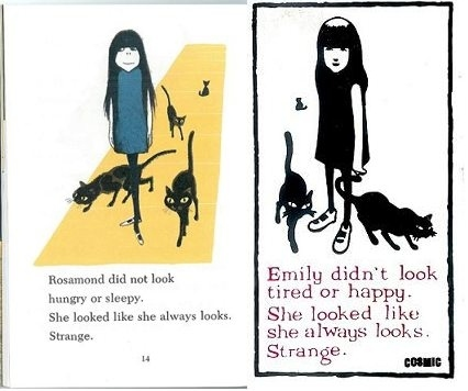 Emily the Strange is a Rip Off of a 1978 Book Character