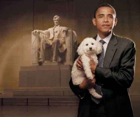 A President and A Dog