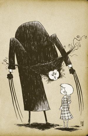 Edward Gorey Wolverine