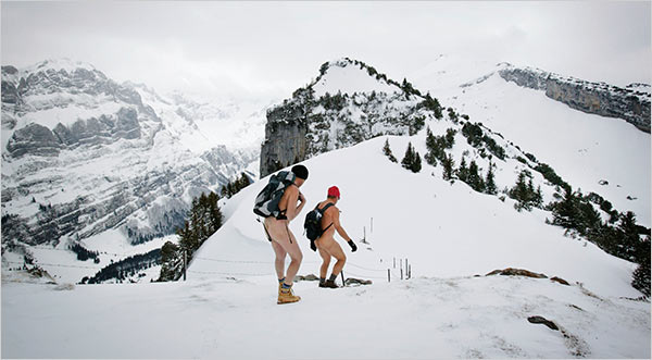 Switzerland's Nude Hiking Controversy