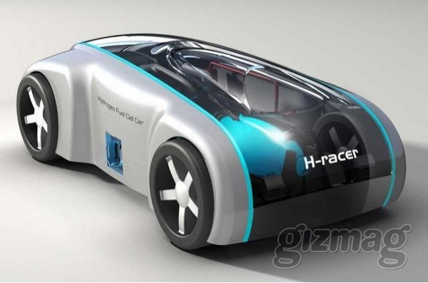 The World's Smallest Hydrogen Car