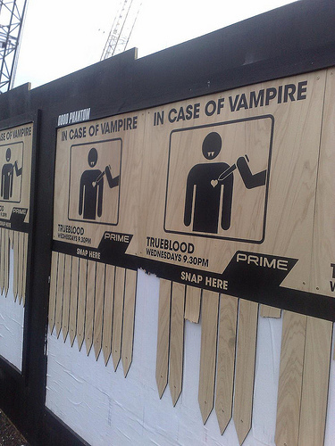 In Case Of Vampire, Snap Here