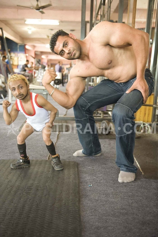 World's Smallest Bodybuilder 'Romeo' Causing Huge Stir