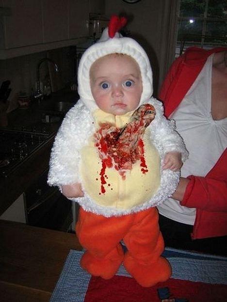 Worst. Baby. Costume. EVER.