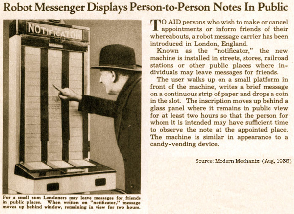 The Notificator: Twitter Ca. 1935