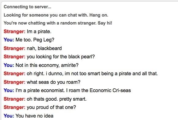 Pirate Economics