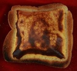 Face of Jesus Appears On Cheese Toast!