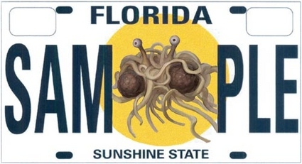 Make Your Own Florida License Plate