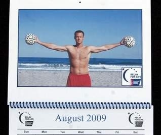 Cocoa Beach Teachers Pose Topless for Charity Calendar!