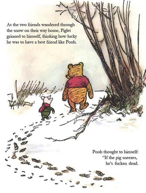 Winnie The Pooh Just Got Dark