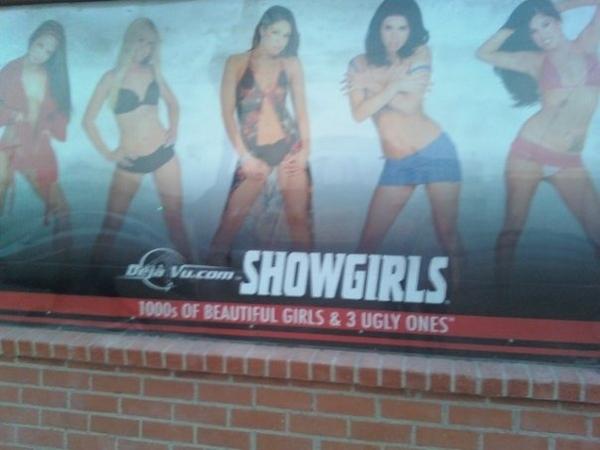 Honest Strip Club Advertising