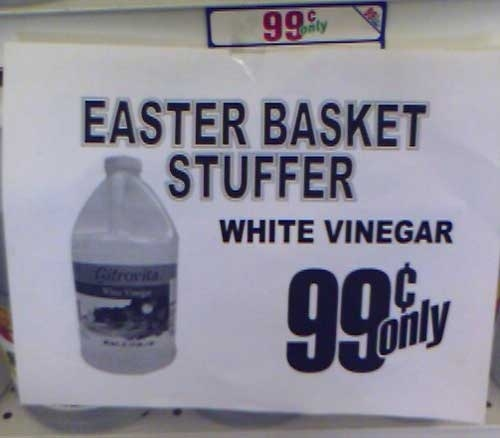Easter Basket Stuffer WTF