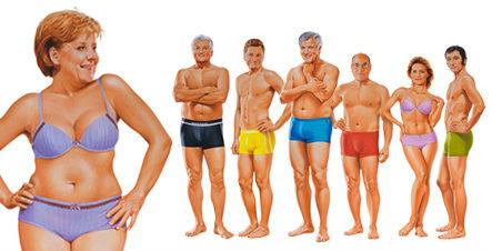 Angela Merkel Underwear Ad