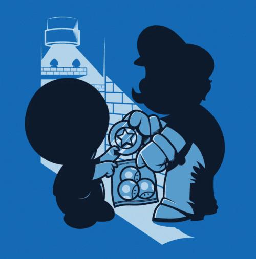 Mario Loves Mushrooms