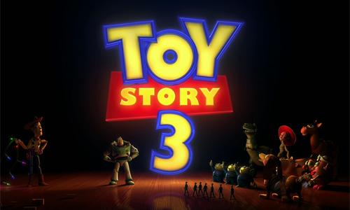 Pixar's Toy Story 3 Logo Design