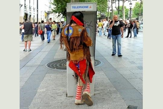 An Indian In Paris