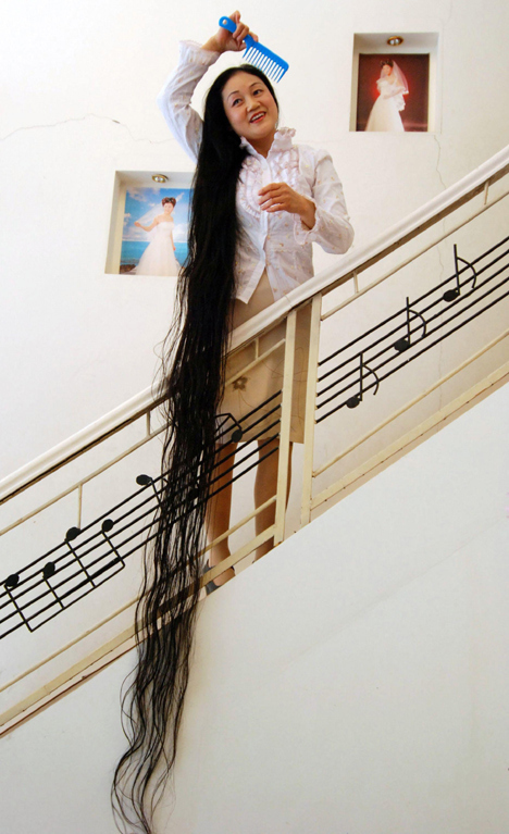 Chinese Rapunzel Xie Qiuping