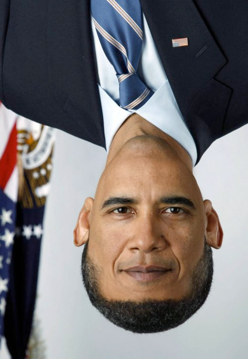 Celebrities Photoshopped Upside Down