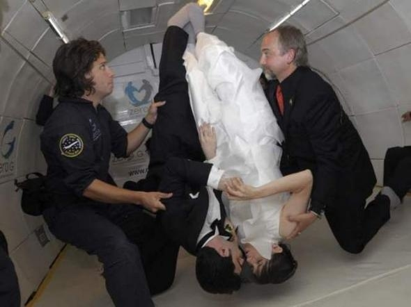 Zero-Gravity Wedding