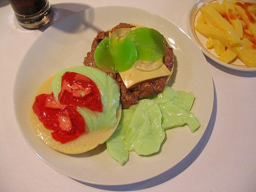 All Jell-O Cheeseburger