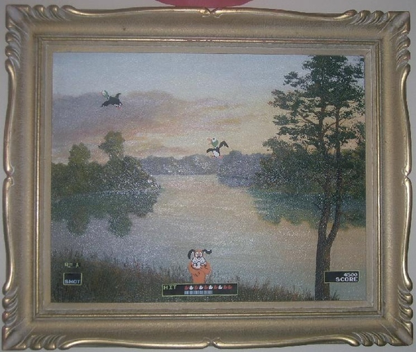 The Duck Hunt Painting