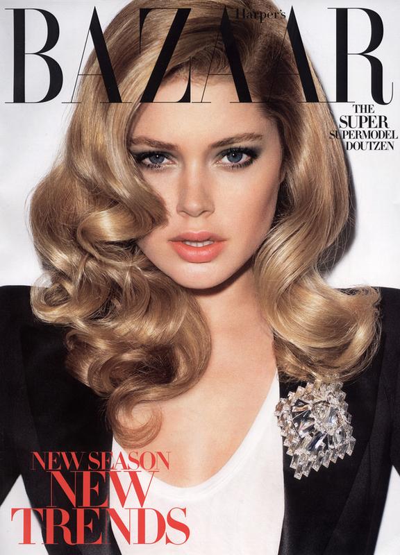 Doutzen Kroes Does Harpers Bazaar